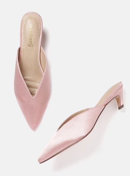 2 dressberry satin mules sold on sale dinner with the girls