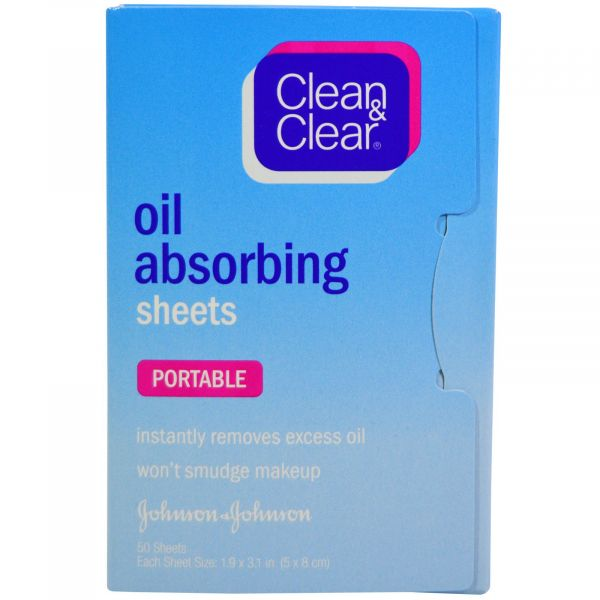 7 oil blotting sheets clean and clear