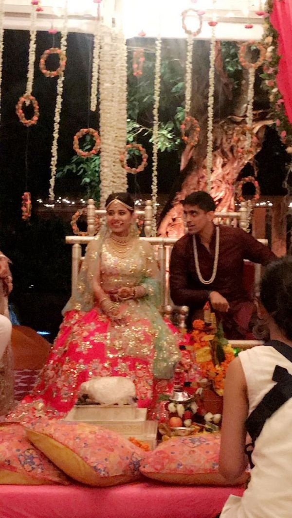 1 shweta tripathi wedding - goa wedding