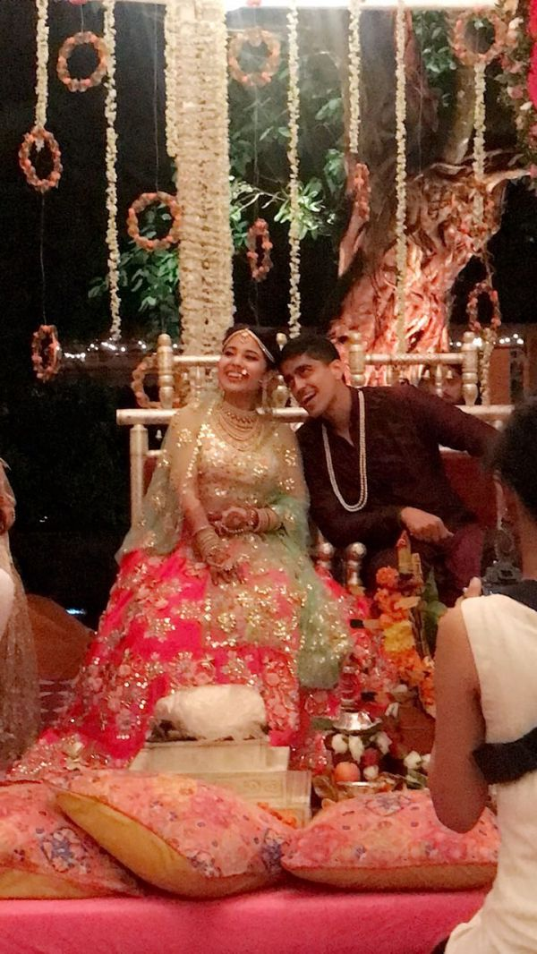 2 shweta tripathi wedding - chaitanya sharma