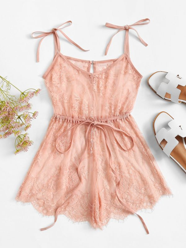 4 romwe pink naughty nightwear