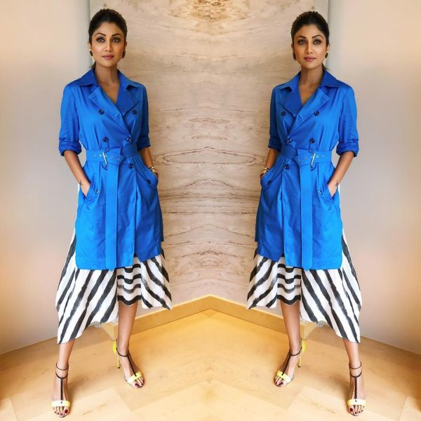 1. shilpa shetty blue us away