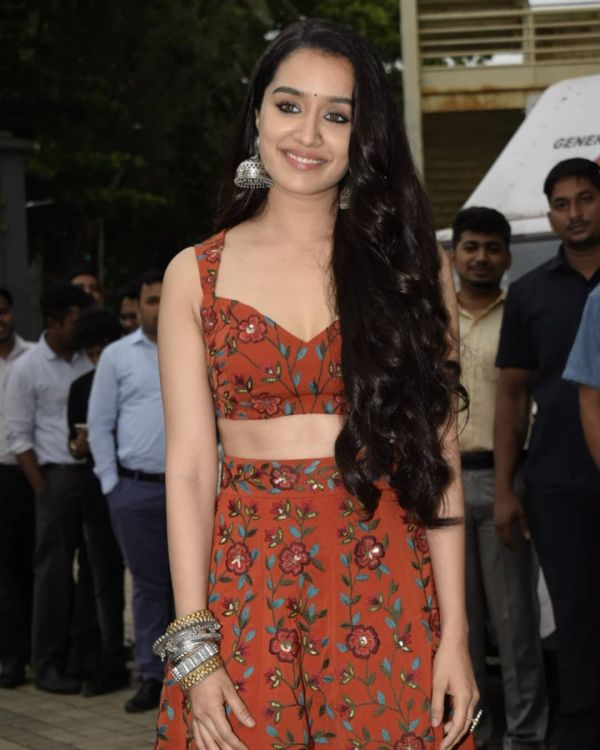 3 shraddha kapoor - boho look in rust orange outfit