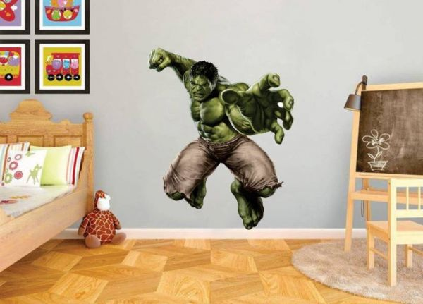 4 the incredible hulk wall sticker