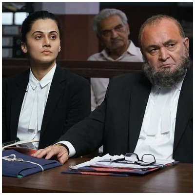 1 Mulk Review Taapsee Pannu and Rishi Kapoor