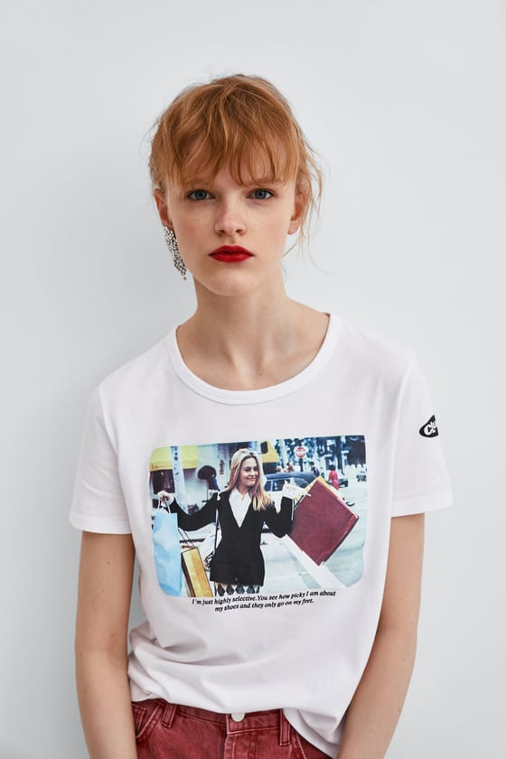 10 gifts - clueless white t-shirt