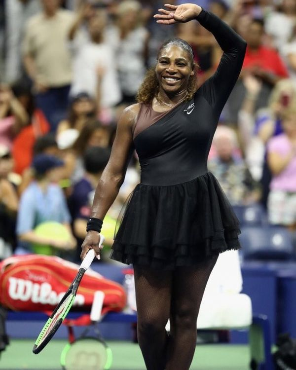 2 serena williams - black tutu skirt to US open