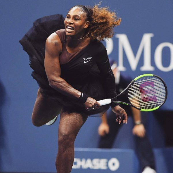 5 serena williams - playing tennis