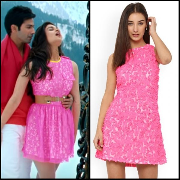 1 dresses from bollywood - alia bhatt pink dress ishq wala love