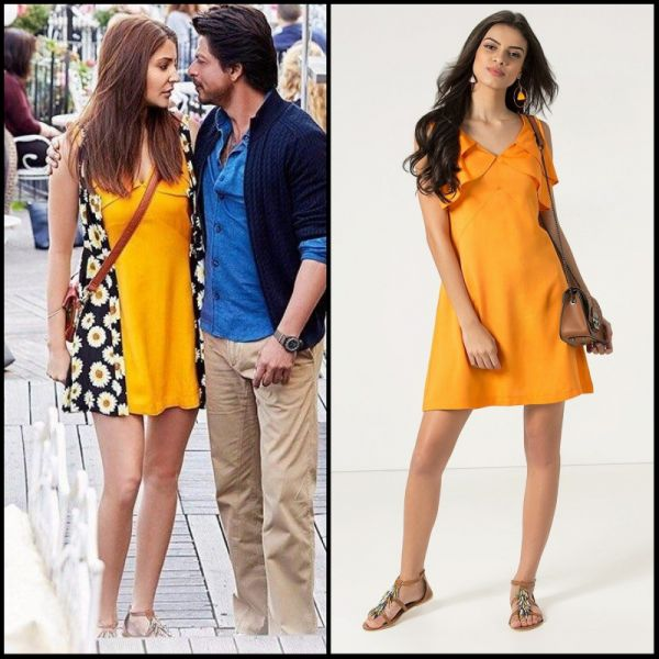 3 dresses from bollywood - anushka sharma yellow dress JHMS