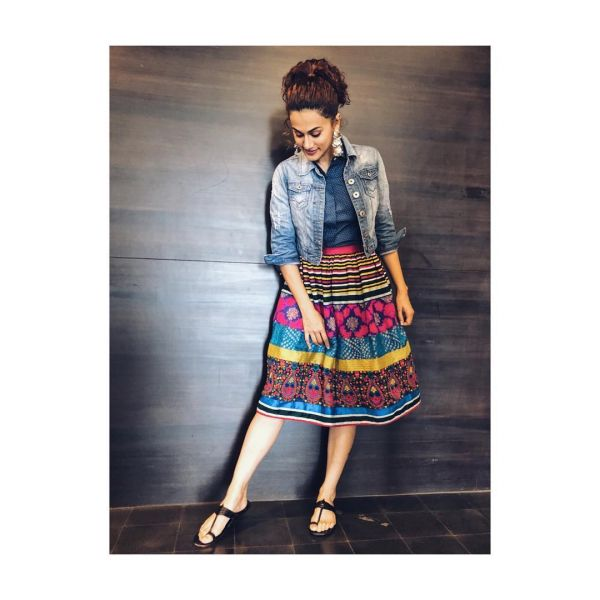 taapsee wore western and looked desi 2