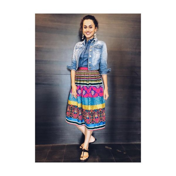 taapsee wore western and looked desi 3