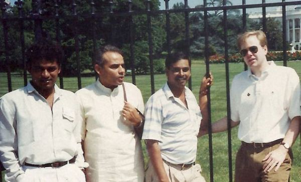 1 pm modi in front of the white house