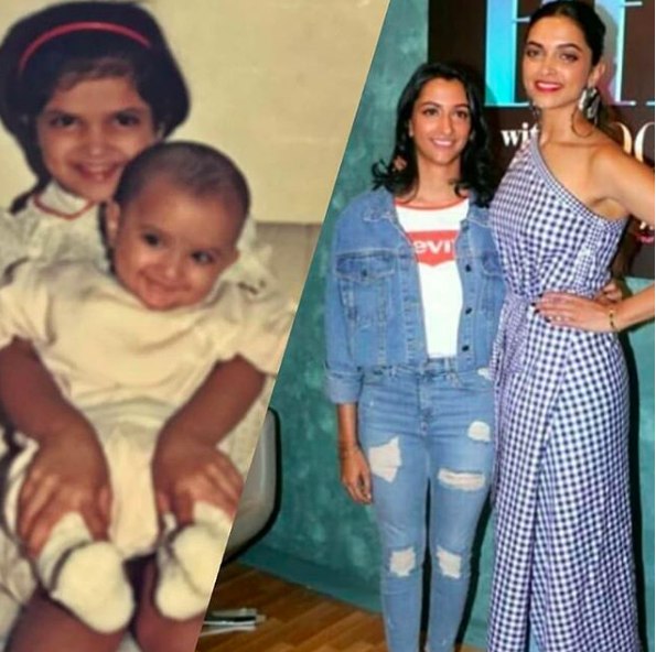 Deepika and Anisha Padukone