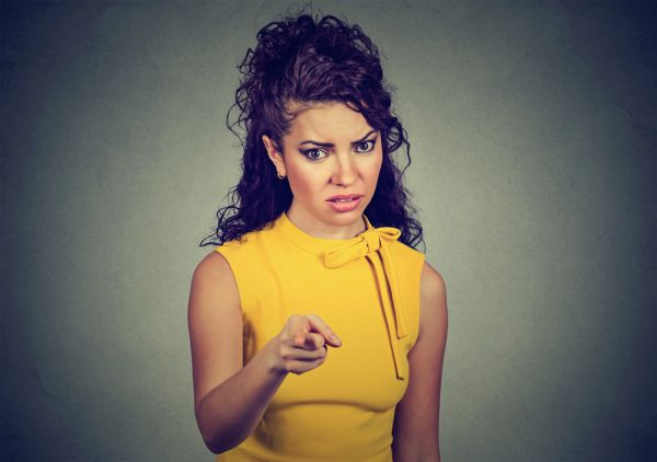 How to control anger- yellow dress angry girl