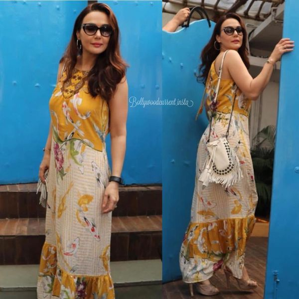 9 neha dhupia invited celebrity friends at her baby shower - priety zinta at neha dhupia's baby shower