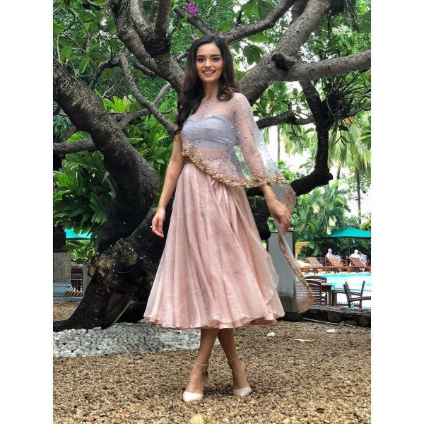 1-manushi-chhillar-sheer-cape-pink-skirt