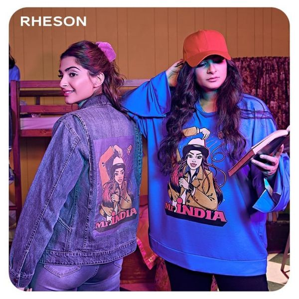 4. female celebrities with their own businesses - rheson by saonam and rhea kapoor