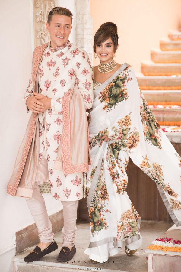 Diipa-Khosla-virtual-wedding-husband-and-wife