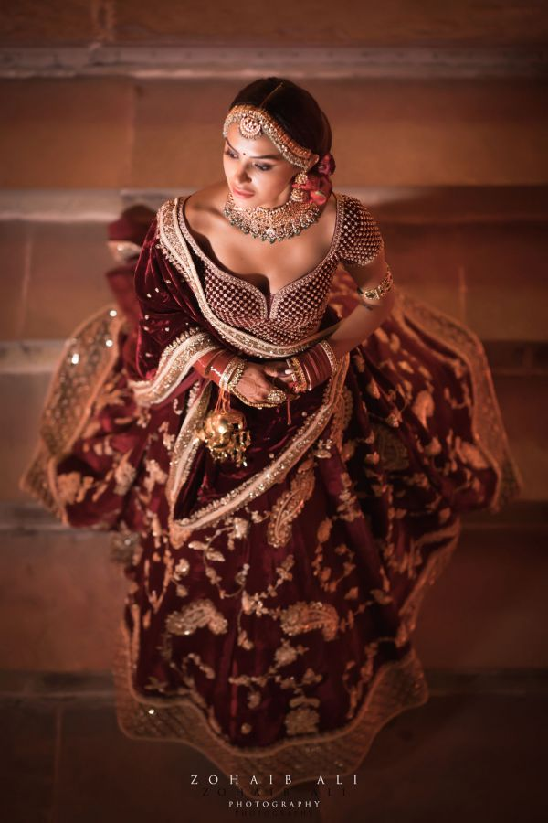 Diipa-Khosla-virtual-wedding-main-day-bridal-solo