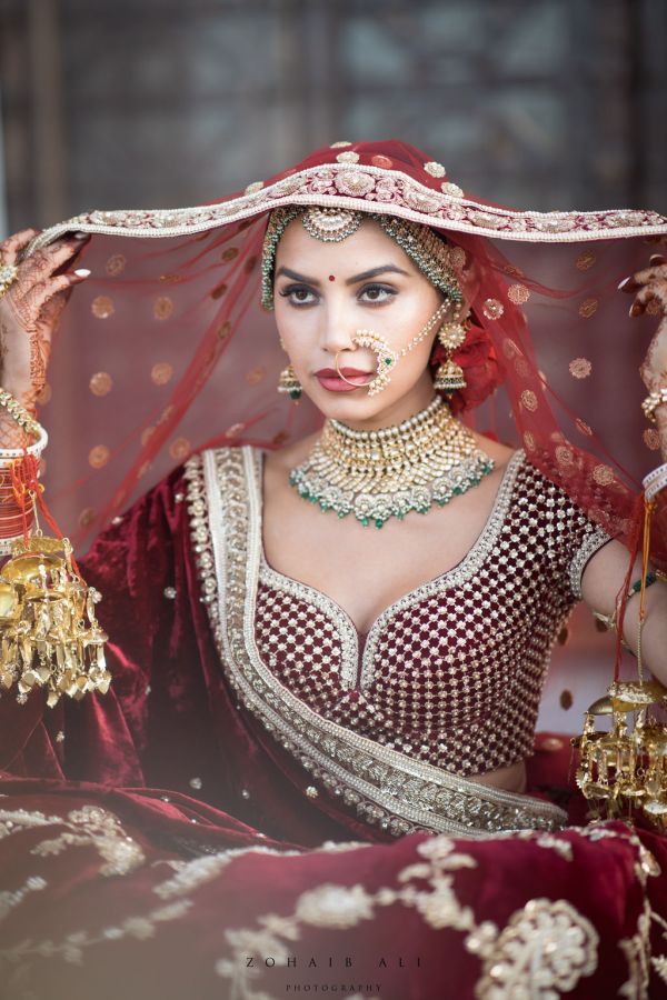 Diipa-Khosla-virtual-wedding-main-day-dulhan-solo