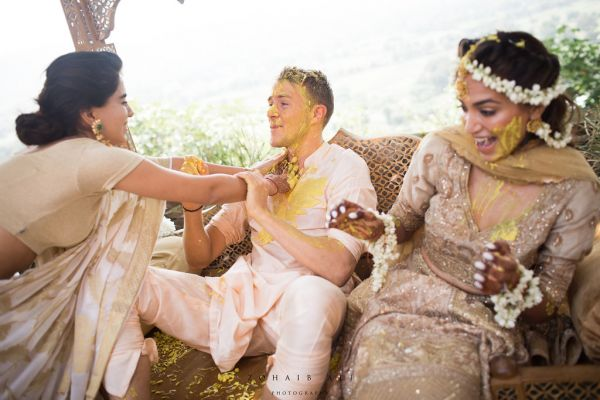 Diipa-Khosla-virtual-wedding-mother-haldi-fun