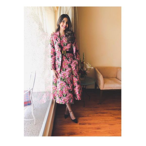 sonam head to toe floral 2