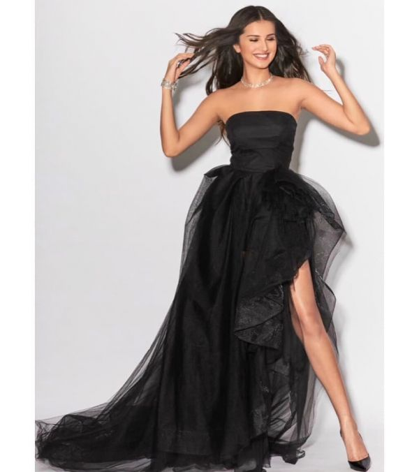 tara-sutaria-strapless-gown-all-black-outfits-kkhh