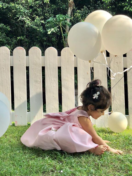 01 asin shares pictures of her daughter - arin
