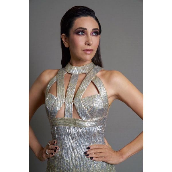 Karisma kapoor purple smokey eyes