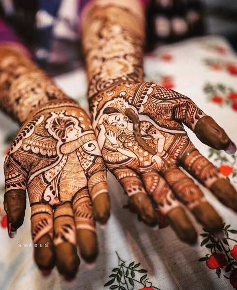 bridal-mehendi-designs-bride-and-groom-sindoor