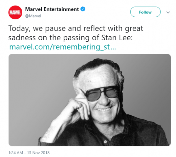creater of the marvel universe  stan lee dies at 95-marvel