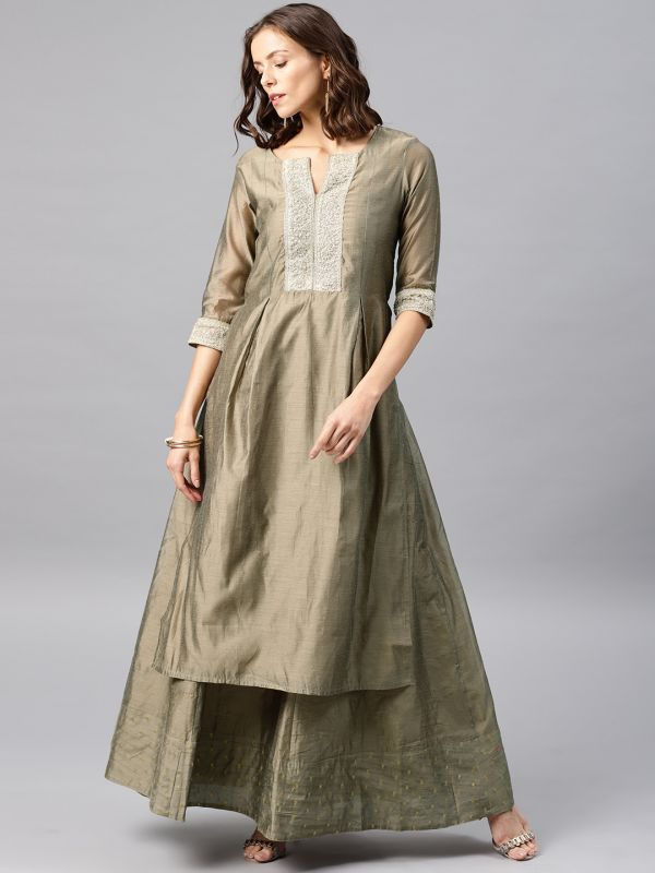 desi-weaves-grey-suit-with-lehenga-what-to-wear-for-first-lohri-after-wedding
