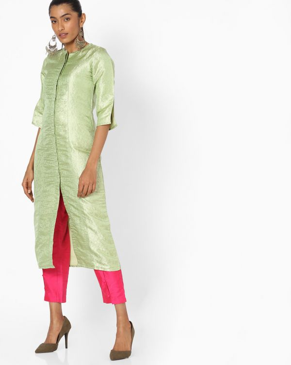 jaipuri-kurti-pista-pink-kurta-suit-pants-what-to-wear-for-first-lohri-after-wedding