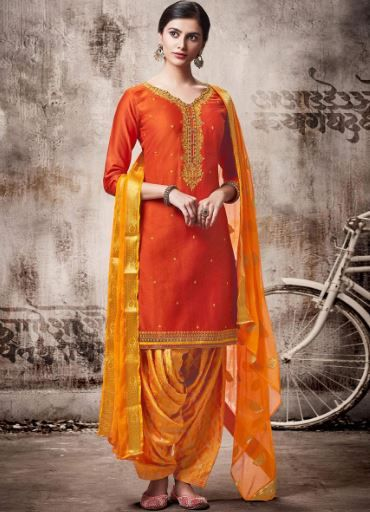 peachmode-yellow-orange-suit-patiala-salwar-what-to-wear-for-first-lohri-after-wedding
