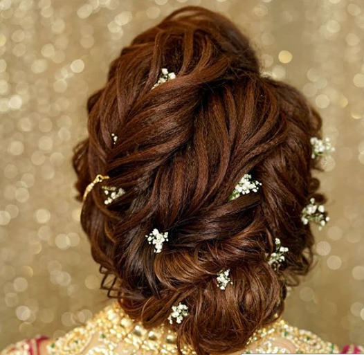 reception-hairstyles-crimped-bun