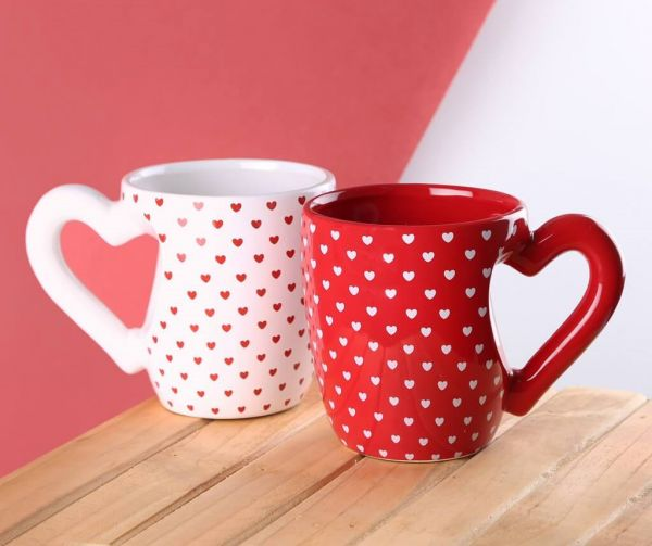 16 valentine's day gift for boyfriend - Huge Heart Mug