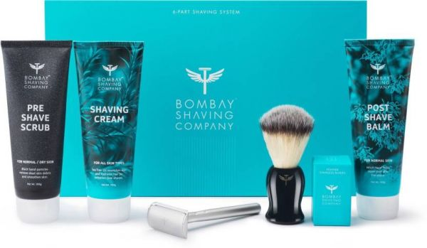 17. valentine's day gift for boyfriend - Bombay Shaving Company 6 Part Shaving System