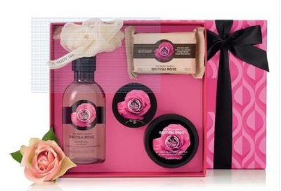 Christmas Gifts Ideas 2018- Body shop British Rose