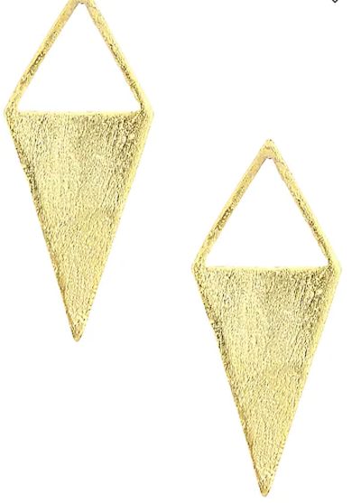 1-Jewellery-design-GOLD-PLATED-KITE-SHAPED-EARRINGS