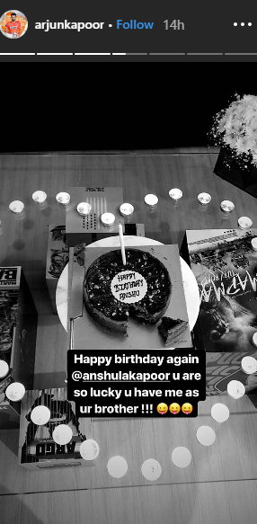 7 Arjun kapoor decorated his house for Anshula's birthday