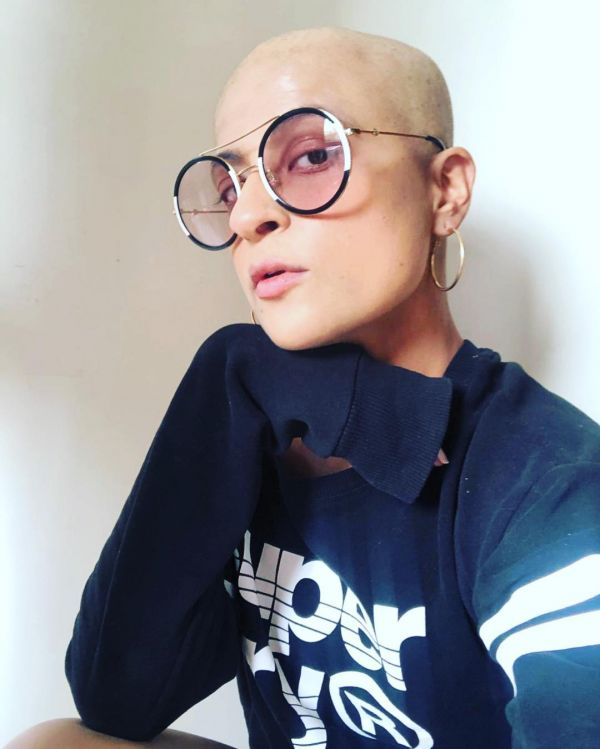 Post Cancer Treatment Tahira Kashyap Goes For A Bald Look