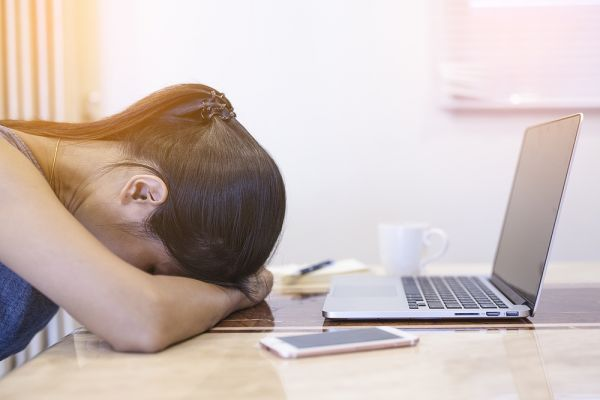 Don%E2%80%99t Read This. It Might Stress You Out - girl stressed at workplace