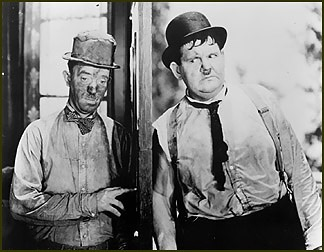 comedy stars laurel and hardy