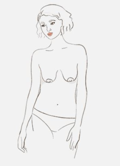 relaxed-breast-shape-types-of-breasts-in-hindi