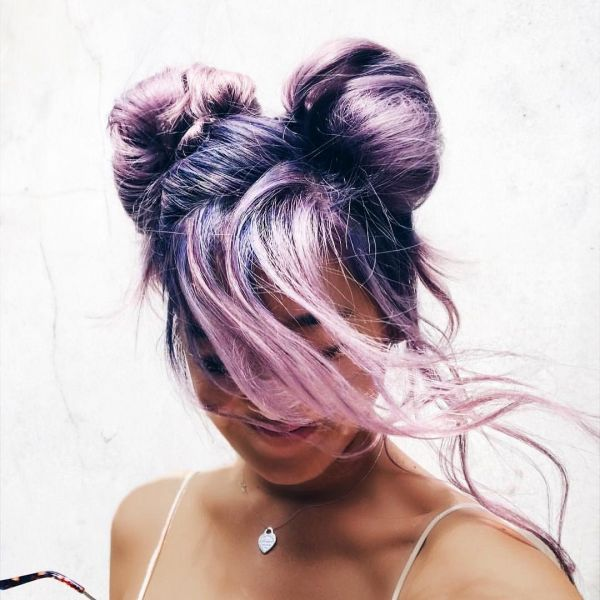 hair-lilac-chocolate-space-buns