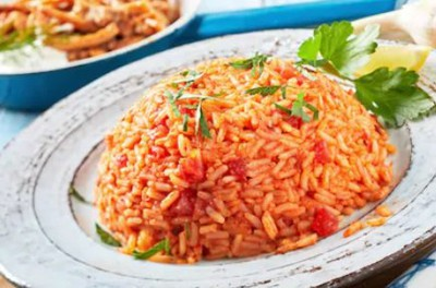 Tomato rice for marathi