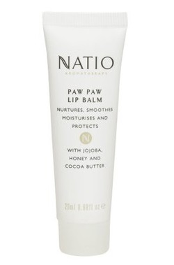 best lip balms Natio Aromatherapy Paw Paw Lip Balm
