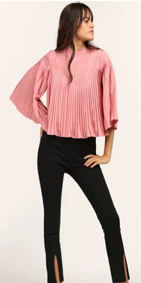 Sleek-pleats-elegant-tops