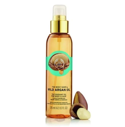 2 argan oil benefits - the body shop wild argan oil